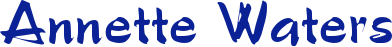 www.annettewaters.co.uk Logo